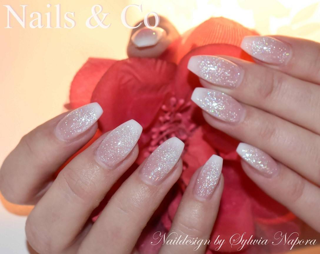 Nageldesign, White Nails, Nagelstudio Kaarst