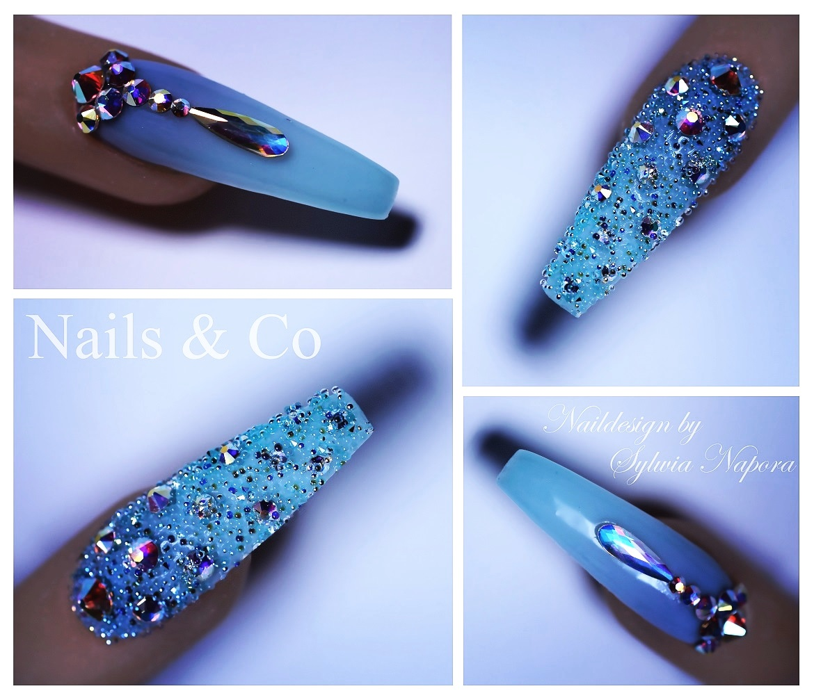 Juwelen Nail Art, Winter Nail Art