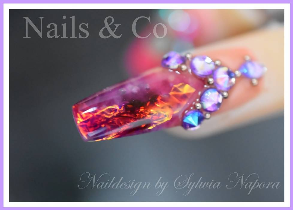 Fire & Ice Nails,  Nail Art, Nageldesign, Nagelstudio Kaarst