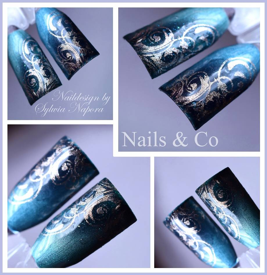 Cat Eye Farbgele, Nail Art, Nageldesign, Nagelstudio Kaarst