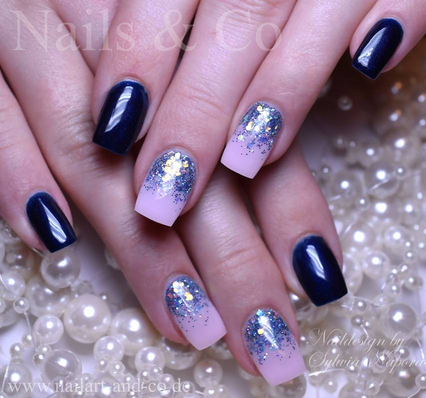 Fullcover, Winter Nailart